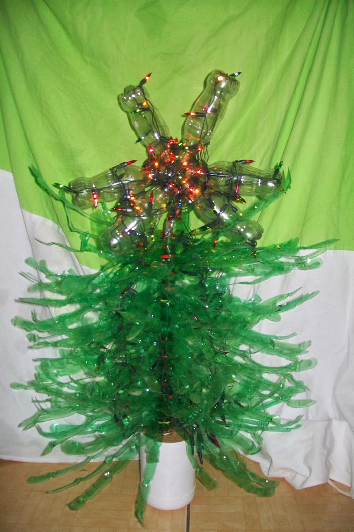 passo a passo árvore natalina