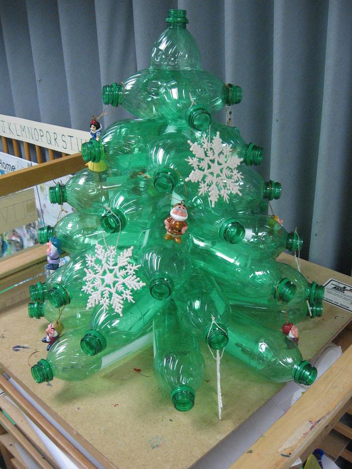 árvore natalina de pet