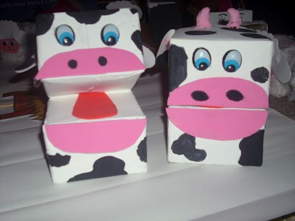 fantoche de eva vaca