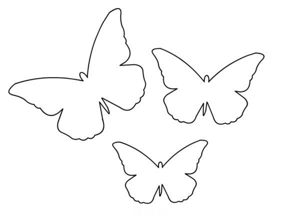 borboleta de papel facil