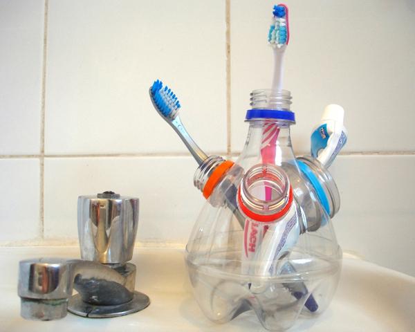porta escova de dente pet