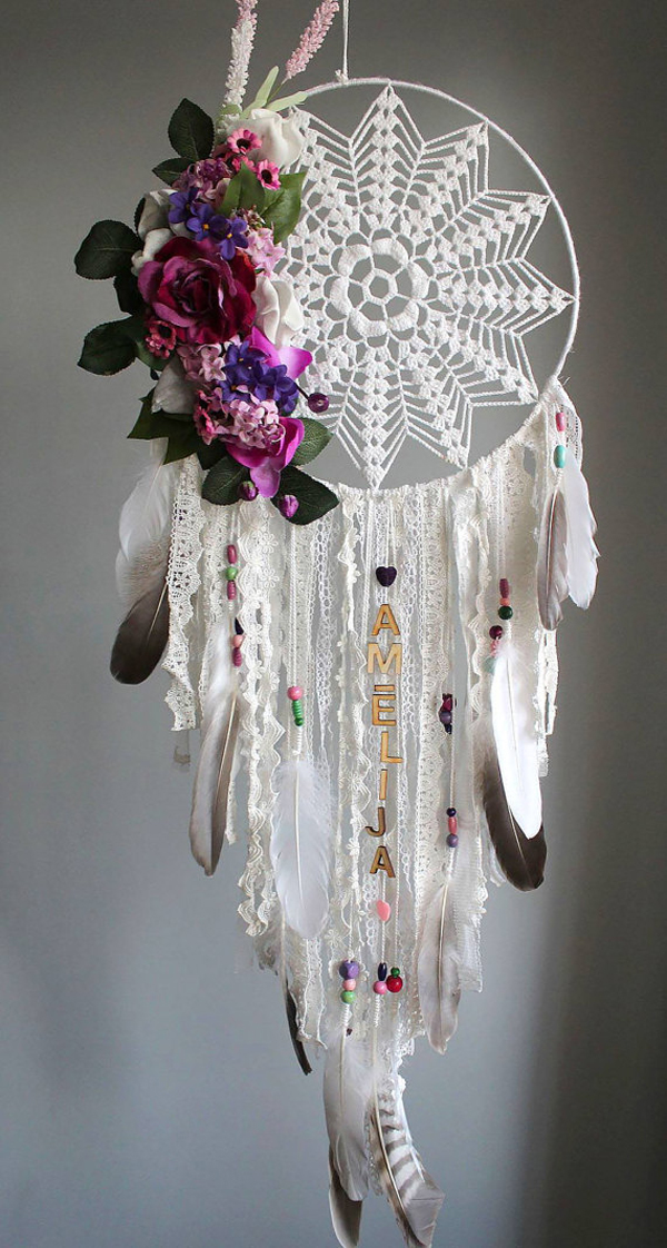 filtro de sonhos com flores