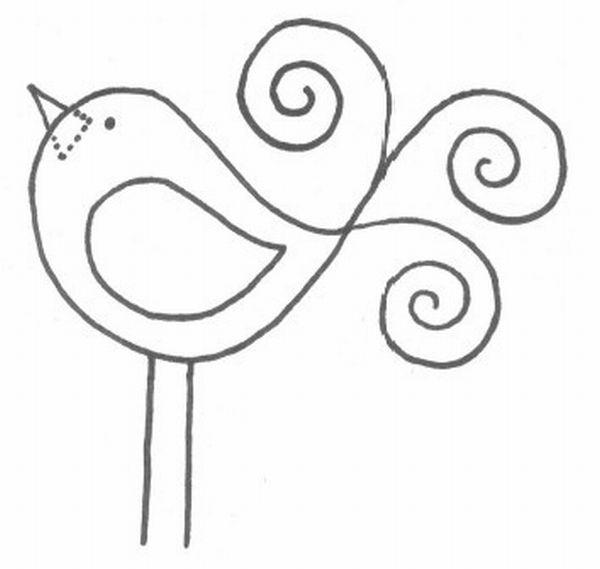 patchcolagem passarinho