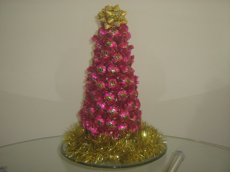 arvore natalina de bombom sonho de valsa