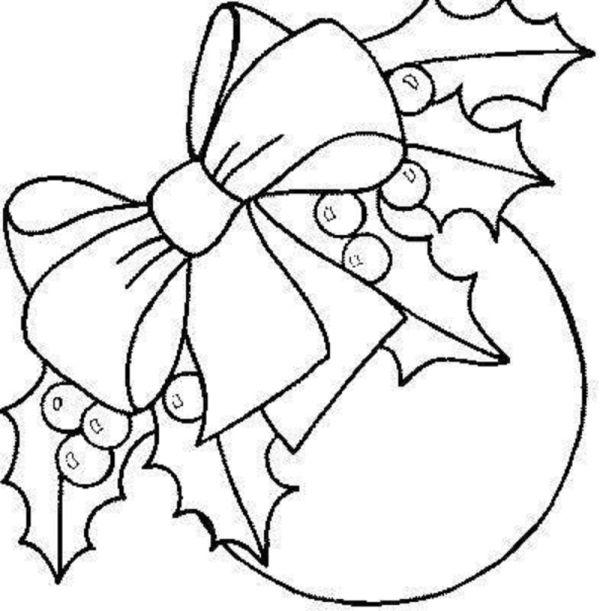 simbolos de natal bola laço