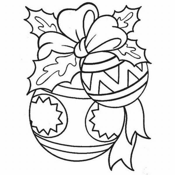 simbolos de natal bola colorida
