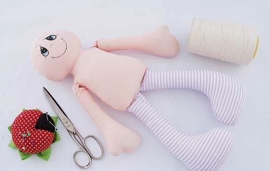 boneca de tecido facinha