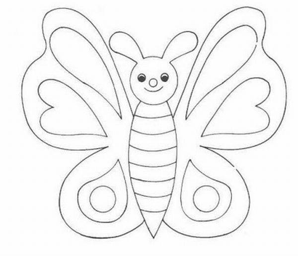 borboleta de papel fofa