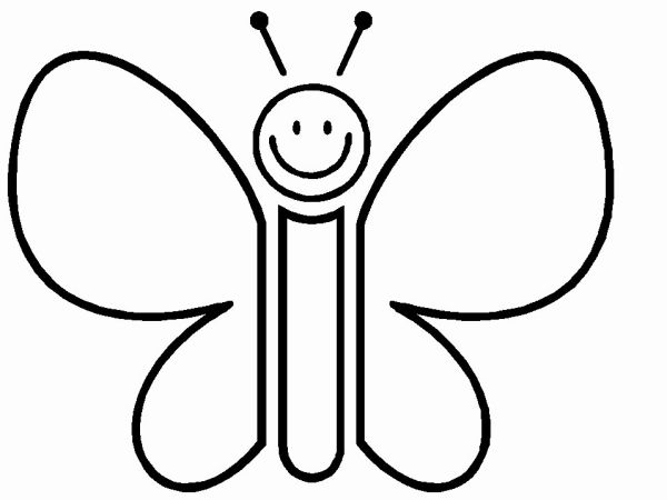 borboleta de papel infantil