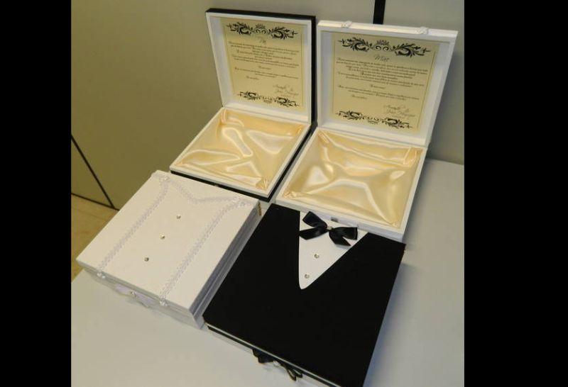 lembrancinha de casamento caixa forrada
