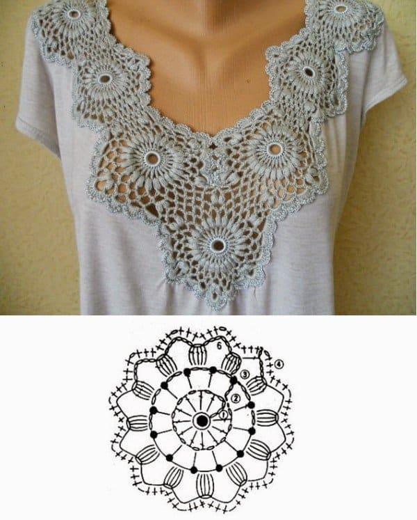 imagens de camisetas customizadas com croche