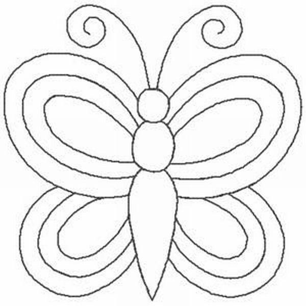 borboleta de papel singela