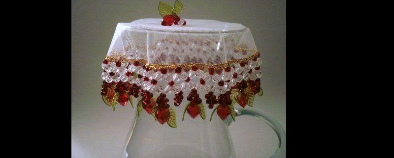 cobre jarra frutas