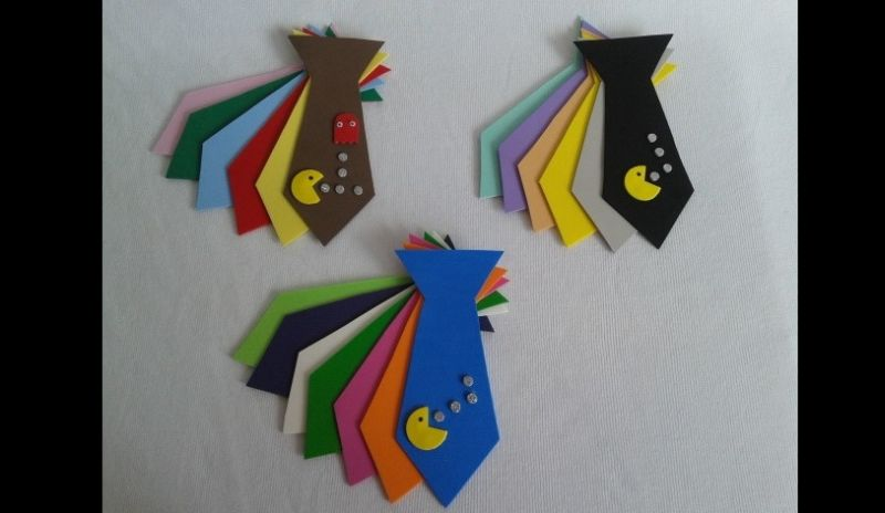 gravata em EVA pac mac