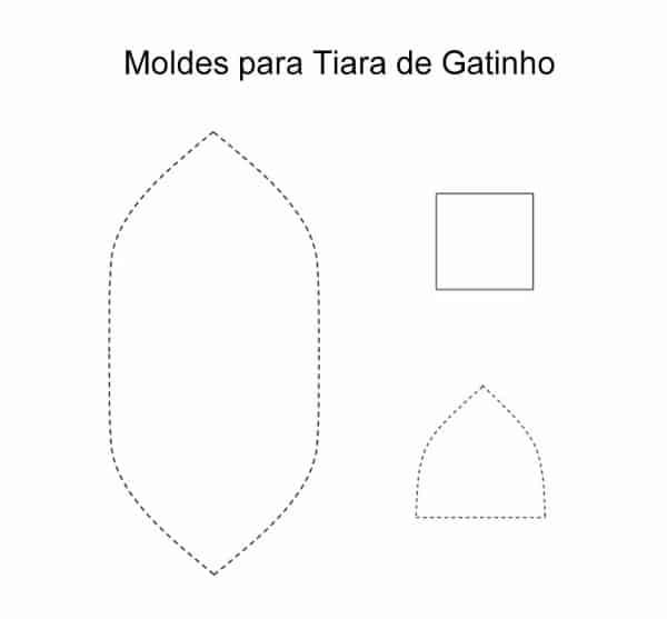 molde de tiara