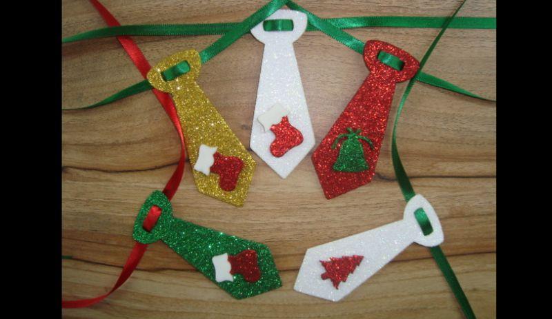 gravata em EVA natal