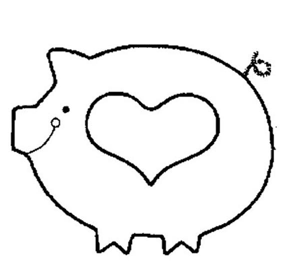 patchcolagem porco