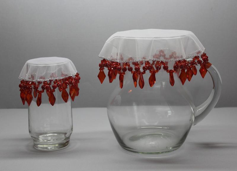 cobre jarra vermelho