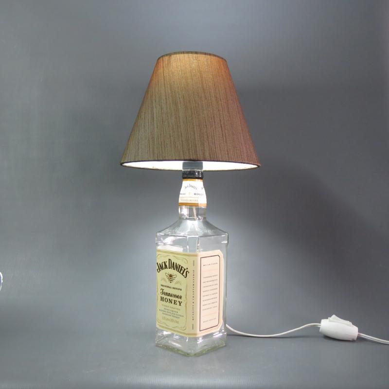 luminaria de garrafa de vidro barata