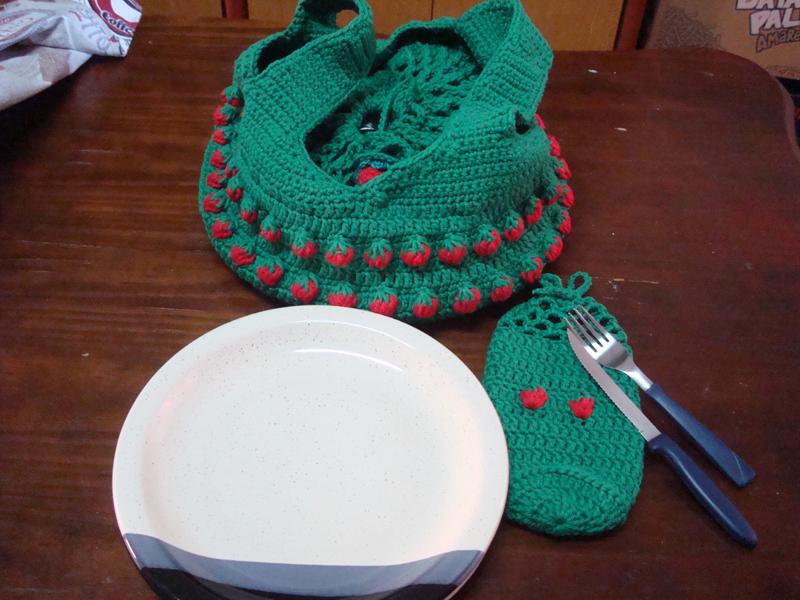 croche verde