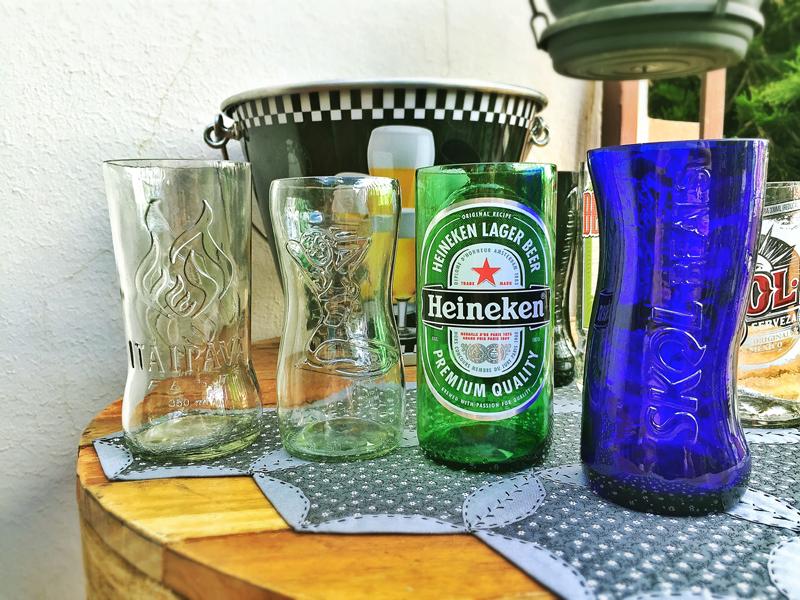copo de garrafa diversos