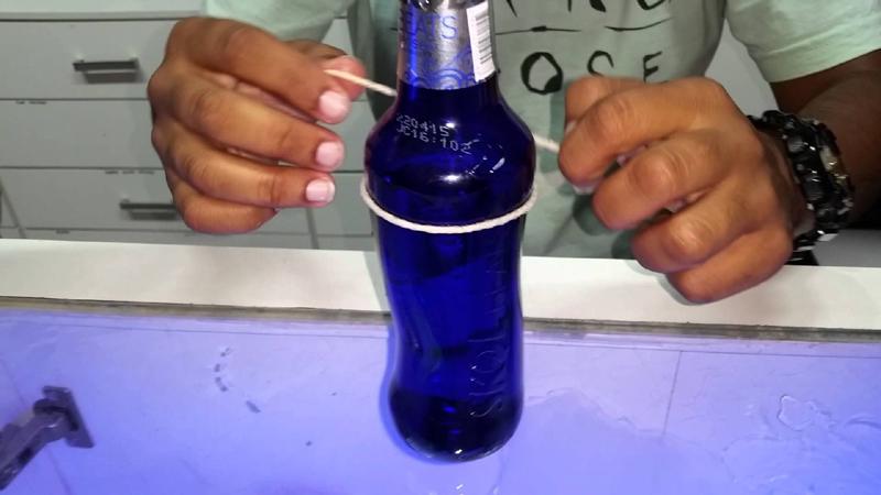 como fazer copo de garrafa