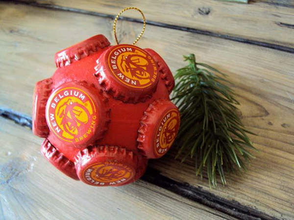 enfeite natalino reciclado bolas