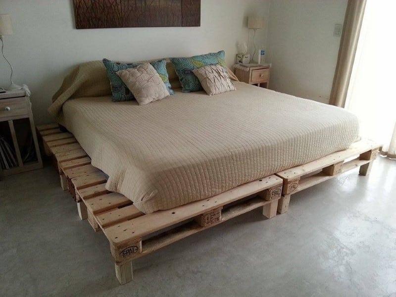 cama de palletes