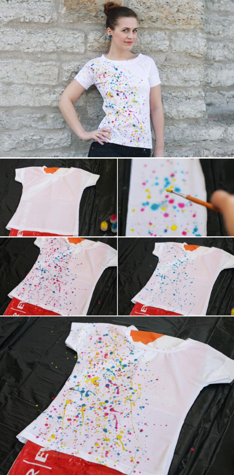 artesanato para vender customização de camiseta