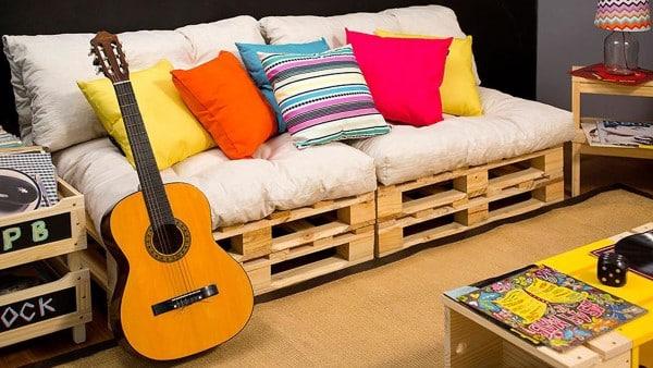 sofa de palete barato