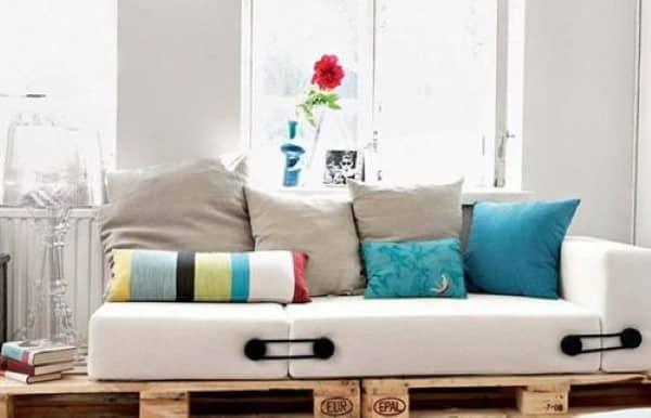 aprenda a fazer sofa de palete