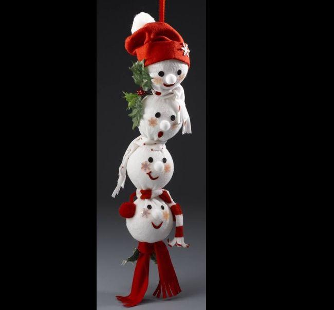 boneco de neve cordao