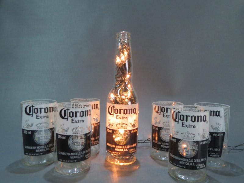copo de garrafa corona