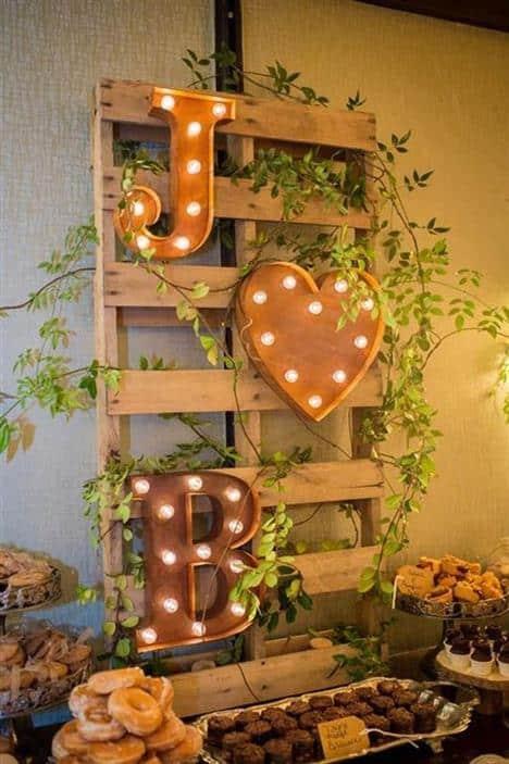 decoração de casamento simples em casa