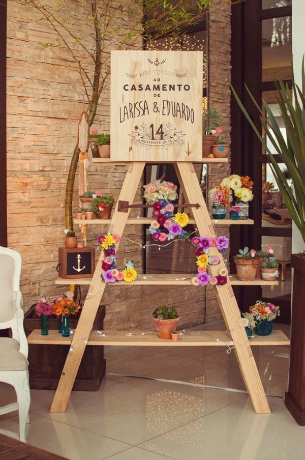 Decoraç u00e3o de Casamento Simples e Barato 64 fotos, ideias, como fazer Artesanato Passo a Passo! -> Decoração Simples Para Mesa De Restaurante