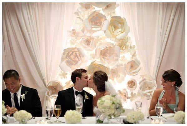 decoração de casamento simples no civil