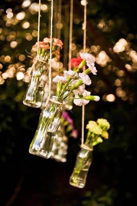 decoração de casamento rustico e simples