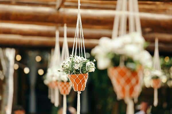 decoração de casamento simples almoço