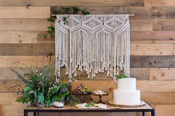 decoração de festa de casamento simples