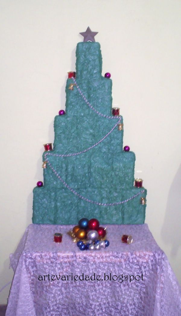 arvore natalina barata