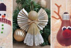 material reciclado natalino