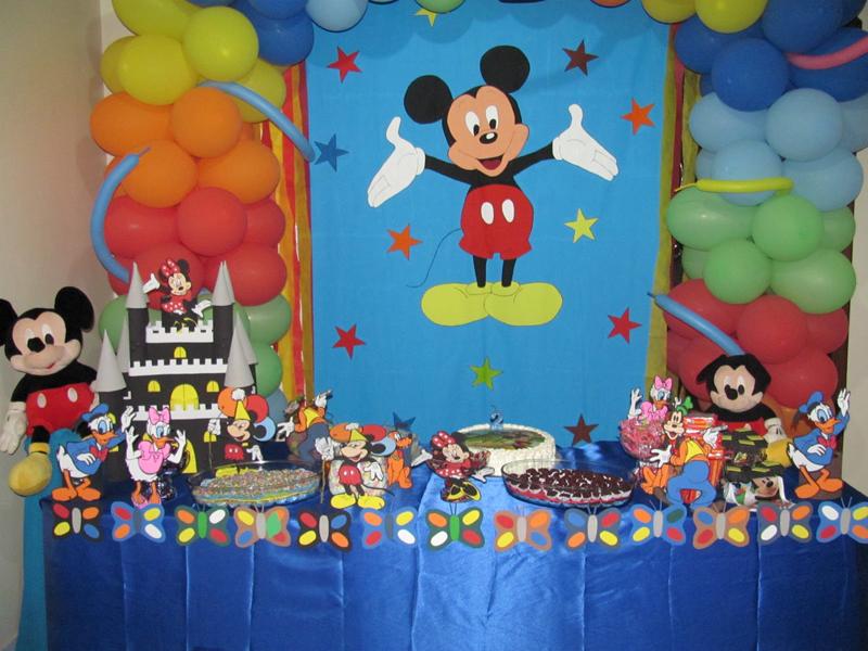 Painel de aniversário mickey