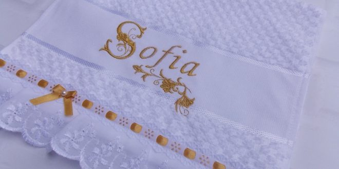 toalha bordada passafita