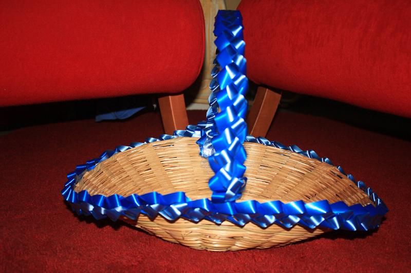 passo a passo cesta decorada