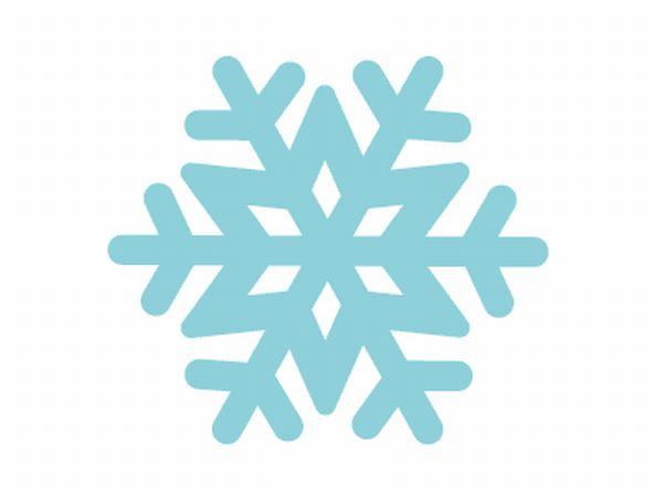 flocos de neve molde