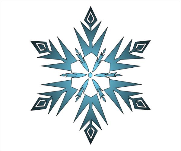 flocos de neve azul