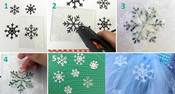 flocos de neve como fazer
