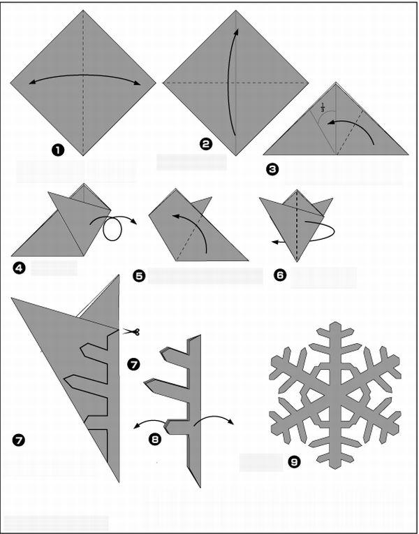 tutorial flocos de neve