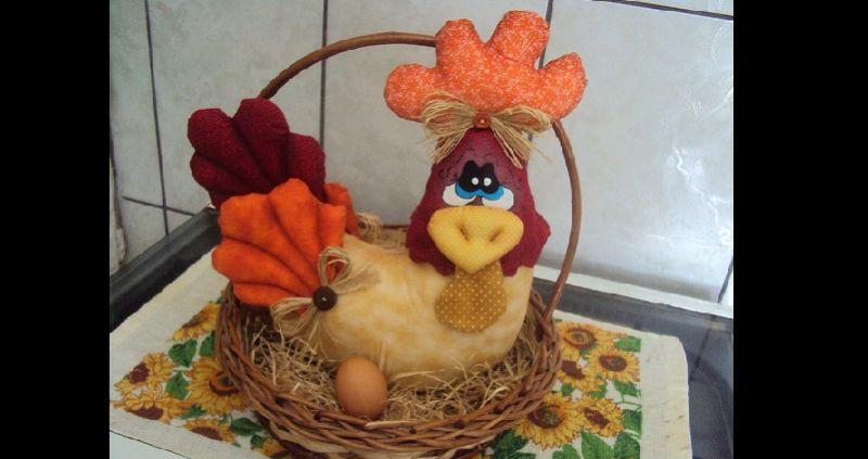 enfeite de cozinha ovos