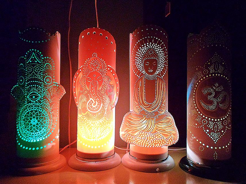luminaria de pvc como fazer